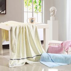Zhengdian 100% cotton pure color household bath towel outdoor and travel quick drying towels soft  comfortable breathable toalha