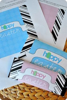 Easter Candy Bar Wrappers {Free Printable}