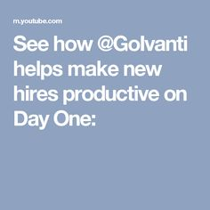 See how @GoIvanti helps make new hires productive on Day One: