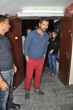 John Abraham at Movie RACE-2  Press Conference.