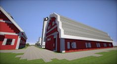 Farm House And Red Barns Minecraft Building Inc Minecraft