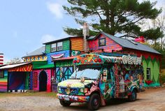 Hippy House.. cool!