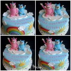 Billy and Bam Bam baby tv cake