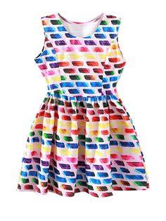 multicolor_dress#plus_summerdress# https://www.nopants-elinor.com