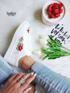 shoes with embroidery sneakers embroidery Aliexpress accessories Aliexpress reviews Aliexpress fashion clothes Aliexpress fashion Aliexpress real photos
