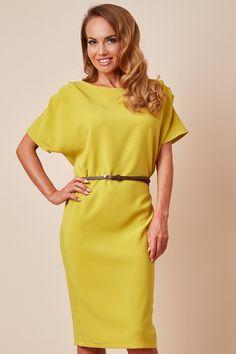 Rochie Office Olive Cold Shoulder Dress, Dresses, Fashion, Vestidos, Moda, Fashion Styles, Dress, Fashion Illustrations, Gown