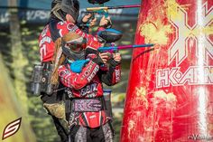 I love this. Photo by nVoke media with social paintball. Revo 3 at psp MAO 2014