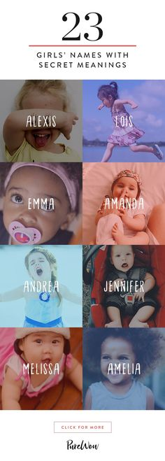 There are a million and one directions you can go with naming your kid, but there's just something about a tried-and-true name that's stood the test of time—especially if it has a significance you never realized. From Jennifer to Lois, here are 23 baby girl names with inspiring secret meanings.