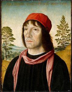 Fra Bartolomeo, Portrait of a Man, after 1497