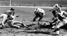 Alan Ameche scores in sudden death overtime. Colts win 1958 NFL Championship!