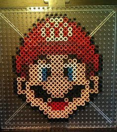 Mario~ Perler Beads by CrimsonsCreations on DeviantArt – Famous Last Words Quilting Beads Patterns Hama Beads Mario, Diy Perler Beads, Easy Perler Bead Patterns, Melty Bead Patterns, Beading Patterns, Peyote Patterns, Loom Patterns, Loom Beading, Quilt Patterns