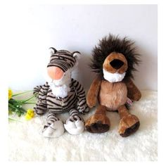 Stuffed Plush Tiger/Lion Toy Doll for Gift Decoration Lion Toys, Pet Toys, Doll Toys, Dolls, Plush, Teddy Bear, Stuffed Toys, Decoration, Gifts