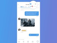 Amazing Chat Interface Inspiration: Timeline Display and Screenshot Edit in a Chat Room by Xiaoxue(Ellie) Zhang Pop Design, Best Ui Design, App Ui Design, Mobile App Design, Interface Design, Flat Design, User Interface, Mobile Screenshot, Moodboard App
