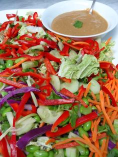 Crunchy Peanut Thai Salad » Nili Stevens Inspired Living