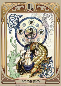 Print art with Scorpio male of ZODIAC project developed by Mangarts Comic Studio. Scorpio Art, Zodiac Art, Zodiac Horoscope, Scorpio Traits, Tarot, Galaxy Drawings, Major Arcana Cards, 12 Zodiac Signs, Guy Pictures