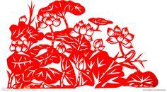 paper-cut of chinese farmer art
