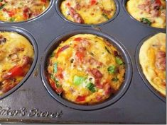 Diet Plans To Weight Loss: Southwestern Egg Muffins & This Weeks Menu Skinny Recipes, Ww Recipes, Low Calorie Recipes, Brunch Recipes, Cooking Recipes, Detox Recipes, Recipies, Healthy Cooking, Healthy Snacks