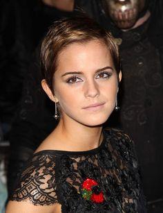 Le court chic d'Emma Watson