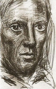 Pablo Picasso - Self Portrait, 1917