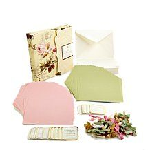 Anna Griffin® Liners, Ribbons and Sentiments Kit
