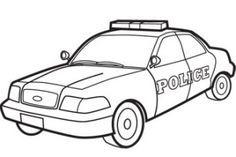 polizeiwagen zum ausmalen 76 malvorlage polizei