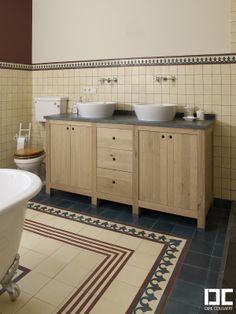 Bathrooms | Dirk #Cousaert