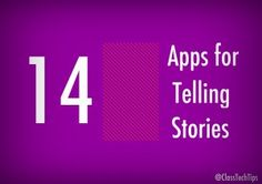 Storytelling is such an important skill and there are plenty of ways to turn your students into storytellers using a mobile device. These a...