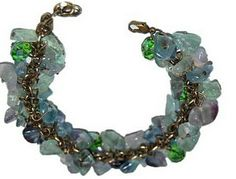 Gem stone bracelet hand made limited stock -www.fashionboutique.co.za