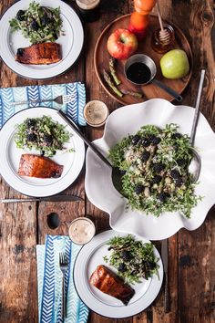 @jaxdodd, founder of the Beeroness, shows us a Pacific Northwest-inspired honey stout glazed salmon recipe with an extra special side salad.