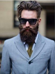 Pleasant Style Thick Beard And Beards On Pinterest Short Hairstyles Gunalazisus