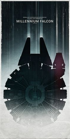 Star Wars - Millennium Falcon | #starwars #spaceship #design