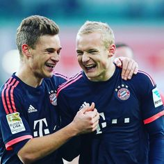Joshua Kimmich and Sebastian Rode