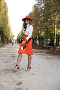 30 Sneaky Ways to Incorporate Orange Into Your Fall Wardrobe | StyleCaster