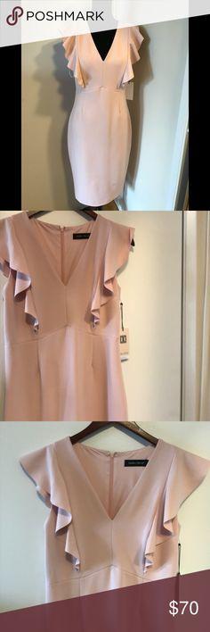 Ivanka Trump pink sheath dress Beautiful business casual dress Ivanka Trump Dresses