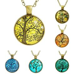Retro Tree Necklaces 11 styles to choose from!