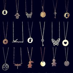 ro: perfect style, all season long! Gold Jewelry, Silver Necklaces, Plating, Pendants, Seasons, Chain, Choices, Beautiful, Holiday