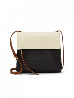 Vince Camuto Tyler Colorblock Leather Crossbody Bag