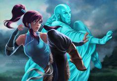 Korra / Aang by luisagiliberti on DeviantArt Avatar Airbender, Avatar Aang, Avatar Legend Of Aang, Team Avatar, Zuko, Equestria Girls, Fan Art Avatar, The Legend Of Korra, Old Teen Titans