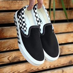 The 100 Most Iconic Vans Sneakers Ever Sneakers Mode, Vans Sneakers, Sock Shoes, Shoe Boots, Vans Shoes Fashion, Vans Shoes Outfit, Basket Style, Custom Vans Shoes, Cute Vans
