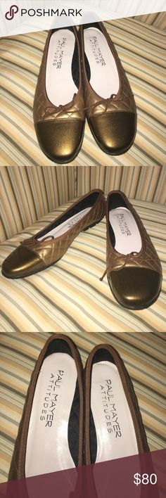 Paul Mayer quilted leather ballet flat NEVER WORN http://m.bloomingdales.com/shop/product/paul-mayer-best-quilted-leather-patent-cap-toe-ballet-flats?ID=967683&pla_country=US&cm_mmc=Google-PLA-ADC-_-Women%27s%20Shoes-NA-_-Paul%20Mayer-_-846688003847USA&SEM-Take20-Special-Offer&CAWELAID=120156070001949563&CAGPSPN=pla&CAAGID=35637446592&CATCI=pla-264523669189&catargetid=120156070004254613&cadevice=m Shoes Flats & Loafers