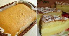 Nadýchaný vanilkový dort z dostupných surovin – hotový za pár minut! Hungarian Desserts, Pizza Casserole, No Cook Desserts, Russian Recipes, Saveur, Sweet Cakes, Relleno, Kefir, Bakery