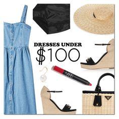"""Dresses Under $100"" by danielle-487 ❤ liked on Polyvore featuring SJYP, Gucci, Prada, Dolce&Gabbana, Aurélie Bidermann and under100"