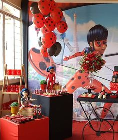 22555199_168884547025255_5001941937573091477_n Lady Bug, Photos, Meet, Party, Ladybug, Miraculous Ladybug, Cake Smash Pictures, Ladybugs