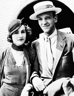 Freddie & Phyllis Astaire on their first wedding anniversary (1933-1954) Very happily married until her death.