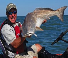 Learn to read the water and sight cast your next giant redfish.