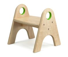 Easy to carry around childrens step stool.