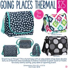 Thirty-One Going Places Thermal - Spring/Summer 2017