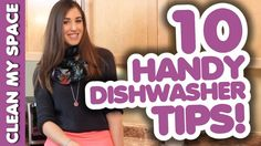 10 AWESOME DISHWASHER TIPS! How to Wash Dishes & Silverware the Fast & E...
