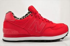 Joes New Balance 574 WL574SPR Red 02E Womens Shoes