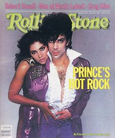 Cover of Rolling Stone Pictures - Prince and Vanity 1983
